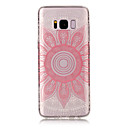Buy Samsung Galaxy S8 Plus TPU Material IMD Process Pink Taro Pattern Phone Case S7 Edge S6 S5