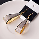 cheap Women's Watches-Women's Hollow Out Drop Earrings - Classic Black / Silver / Golden For Wedding Party Daily