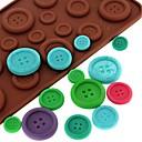 voordelige Bakgerei & Gadgets-Bakvormen gereedschappen Siliconen Milieuvriendelijk / Anti-aanbak / 3D Chocolade / Ijs / voor Candy bakvorm 1pc