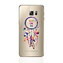 رخيصةأون حافظات / جرابات هواتف جالكسي S-غطاء من أجل Samsung Galaxy S8 Plus S8 شفاف نموذج غطاء خلفي الريش ناعم TPU إلى S8 Plus S8 S7 edge S7 S6 edge plus S6 edge S6 S5 S4