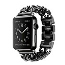 preiswerte Mac-Aufkleber-Uhrenarmband für Apple Watch Series 3 / 2 / 1 Apple Schmetterling Schnalle Edelstahl Handschlaufe
