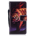 رخيصةأون Huawei أغطية / كفرات-غطاء من أجل Huawei حامل البطاقات محفظة مع حامل قلب مغناطيس نموذج غطاء كامل للجسم حيوان قاسي جلد PU إلى P10 Plus P10 Lite P10 P8 Lite