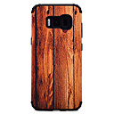 Χαμηλού Κόστους Θήκες / Καλύμματα Galaxy S Series-tok Για Samsung Galaxy S8 Plus S8 Ανθεκτική σε πτώσεις Με σχέδια Πίσω Κάλυμμα Νερά ξύλου Σκληρή PC για S8 Plus S8 S7 edge S7