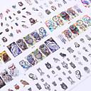 hesapli Fırın Araçları ve Gereçleri-12 Sanat Sticker Nail Makyaj Kozmetik Sanat Tasarım Nail