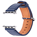 abordables Coques d'iPhone-Bracelet de Montre  pour Apple Watch Series 3 / 2 / 1 Apple Boucle Classique Vrai Cuir Sangle de Poignet