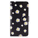 ieftine Carcase / Huse Galaxy S Series-Maska Pentru Samsung Galaxy S8 Plus S8 Titluar Card Portofel Cu Stand Întoarce Carcasă Telefon Floare Greu PU piele pentru S8 Plus S8 S7