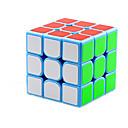 billige Magiske kuber-Magic Cube IQ-kube 3*3*3 Glatt Hastighetskube Magiske kuber Kubisk Puslespill Glatt klistremerke Konkurranse Barne Voksne Leketøy Unisex Gutt Jente Gave