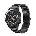 hesapli Saat Aksesuarları-Silikon Watch Band kayış Siyah 20cm / 7.9 İnç 2cm / 0.8 İnç