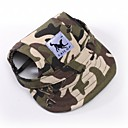 cheap Makeup & Nail Care-Cat Dog Bandanas & Hats Dog Clothes Camo / Camouflage White / Blue White / Pink Leopard Terylene Costume For Spring &  Fall Summer Men's Women's Sports