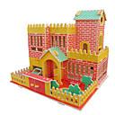 olcso iPhone tokok-3D építőjátékok Fejtörő Wood Model Népszerű épület DIY Fa Klasszikus Gyermek Uniszex Játékok Ajándék