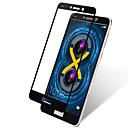 hesapli Makyaj ve Tırnak Bakımı-Ekran Koruyucu için Huawei Honor 6X Temperli Cam 1 parça Tam Kaplama Ekran Koruyucular Yüksek Tanımlama (HD) / 9H Sertlik / 2.5D Kavisli Kenar