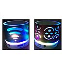 economico Casse-Bluetooth 2.0 3,5 mm LED Blu scuro Viola Giallo Fucsia