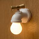 Недорогие Двухконтактные LED лампы-brelong 1 pack кран ночной свет черный / белый