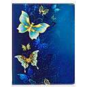cheap iPhone Cases-Case For Apple iPad 4/3/2 iPad Air 2 iPad Air Origami Full Body Cases Butterfly Hard PU Leather for iPad 4/3/2 iPad Air iPad Air 2 iPad