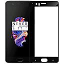 Недорогие Серьги-Защитная плёнка для экрана OnePlus для One Plus 5 Закаленное стекло 1 ед. Защитная пленка на всё устройство Защита от царапин