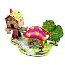 voordelige 3D Puzzels-3D-puzzels Legpuzzel Modelbouwsets Beroemd gebouw Huis DHZ Hard Kaart Paper Klassiek Anime Cartoon Kinderen Unisex Geschenk