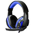 levne Headsety a sluchátka-Nad uchem / Čelenka Kabel Sluchátka Plastický Hraní her Sluchátko S ovládáním hlasitosti / s mikrofonem / Izolace proti hluku Sluchátka
