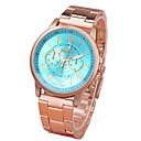 cheap Earrings-Women's Wrist Watch Quartz Casual Watch Alloy Band Analog Casual Fashion Gold - Pink Khaki Light Green One Year Battery Life / Tianqiu 377