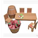 رخيصةأون ساعات الرجال-قطع تركيب3D أشغال الورق مفروشات كرسي اصنع بنفسك ورق صلب للأطفال للجنسين ألعاب هدية