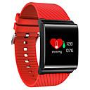 tanie Inteligentne zegarki-Inteligentny zegarek Ekran dotykowy Pulsometr Spalone kalorie Krokomierze Rejestr ćwiczeń Śledzenie odległości Informacje Anti-lost