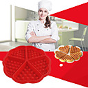 cheap Makeup & Nail Care-Silica Gel Baking Tool Creative Kitchen Gadget Everyday Use Cake Molds Bakeware tools