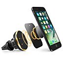 cheap Car Mounts & Holders-ZIQIAO Universal Car Phone Holder Magnetic Air Vent Mount Stand 360 Rotation Mobile Phone Holder for iPhone Samsung Phone