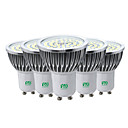 abordables Tubes LED-ywxlight® 5pcs gu10 7w 2835smd ampoule led spot ac ac 85-265v blanc chaud blanc froid naturel blanc led ampoule spotlight pour éclairage domestique