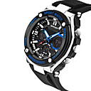 ราคาถูก สายเคเบิลโทรศัพท์และอะแดปเตอร์-SANDA สำหรับผู้ชาย นาฬิกาแนวสปอร์ต นาฬิกาทหาร นาฬิกาข้อมือ ดิจิตอล ยางทำจากซิลิคอน ดำ 30 m กันน้ำ ปฏิทิน Creative ดิจิตอล เสน่ห์ ความหรูหรา ไม่เป็นทางการ แฟชั่น สง่างาม - สีทอง สีดำ ฟ้า / สองปี
