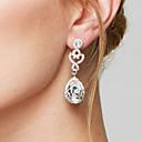 preiswerte Halsketten-Damen Tropfen-Ohrringe Ohrring - Diamantimitate Tropfen Modisch, Elegant, Brautkleidung Dunkelrot / Königsblau / Champagner Für Hochzeit Party Jahrestag