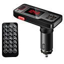 hesapli Bluetooth Araba Setleri/El-kullanılmadan-VBT69 V3.0 Bluetooth Araba Setleri Araç Kiti Uzaktan Kontrol / FM Vericiler / USB Port Araba