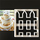 cheap Bakeware-Bakeware tools Plastics Everyday Use Cake Molds 1pc