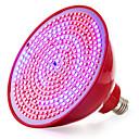 baratos Lâmpadas de Foco de LED-1pç 15 W 2245-2297LM E26 / E27 Lâmpada crescente 352 Contas LED SMD 2835 Vermelho 85-265 V / RoHs / FCC