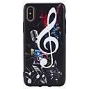 halpa iPhone kotelot-Etui Käyttötarkoitus Apple iPhone X iPhone 8 Plus Kuvio Koristeltu Takakuori Punk Pehmeä TPU varten iPhone X iPhone 8 Plus iPhone 8