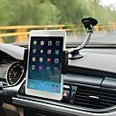זול חצובות ואביזרים-רכב אוניברסלי / טלפון סלולרי / טאבלט / ipad הר לעמוד מחזיק השמשה הקדמית אוניברסלי / iPhone / Tablet קופולה סוג ABS מחזיק