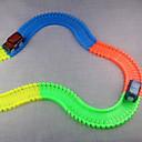 hesapli Bilezikler-Oyuncak Arabalar Raylı Yük Araçları Klasik Araba Yenilik Karanlıkta Parlayan Florasan Gece Parlayan ABS Çocuklar için Genç Erkek Genç Kız Oyuncaklar Hediye