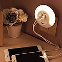 abordables Lampes à Filament LED-BRELONG® 1 pièce Prise murale Blanc Rechargeable Contrôle de la lumière Transport Facile