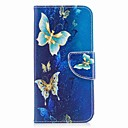 cheap iPhone Cases-Case For Apple iPhone X / iPhone 8 Wallet / Card Holder / with Stand Full Body Cases Butterfly Hard PU Leather for iPhone X / iPhone 8 Plus / iPhone 8