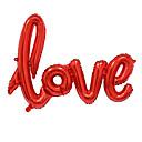economico Attrezzature da ufficio-big size amore lettere foil balloon romantico mylar bellissimi palloncini