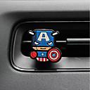 Недорогие Другие украшения-автомобильный парфюм орнамент супермен креативный мультфильм силиконовый металлический материал автомобильный очиститель воздуха