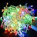 preiswerte Backzubehör & Geräte-30m Leuchtgirlanden 300SMD LEDs Warmes Weiß / RGB / Weiß Wasserfest / Farbwechsel 220 V / IP44