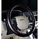 رخيصةأون أدوات الحمام-أغطية إطارات القيادة جلد أصلي 38cm أرجواني / كوفي / أسود-أحمر من أجل فولفو S90 / XC90 / XC60 كل السنوات