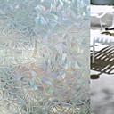 hesapli Pencere Malzmeleri-Geometrik Pencere Çıkartması, PVC/winyl Malzeme pencere Dekorasyonu Oturma Odası Banyo Dükkanı / Kafe Mutfak