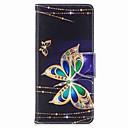 저렴한 갤럭시 노트 시리즈 케이스 / 커버-케이스 제품 Samsung Galaxy Note 8 지갑 / 카드 홀더 / 스탠드 전체 바디 케이스 버터플라이 하드 PU 가죽 용 Note 8
