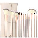 hesapli Makyaj ve Tırnak Bakımı-12pcs Profesyonel Makyaj fırçaları Fırça Setleri Sentetik Saç Ruj / Kaş / Eyeliner
