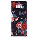 cheap Galaxy S Series Cases / Covers-Case For Samsung Galaxy Note 8 Pattern Back Cover Flower Soft TPU for Note 8