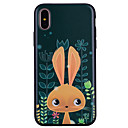 preiswerte iPad Hüllen / Cover-Hülle Für Apple iPhone X iPhone 8 Muster Rückseite Cartoon Design Tier Weich Silikon für iPhone X iPhone 8 Plus iPhone 8 iPhone 7 Plus