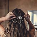 Недорогие Украшения для щиколоток-Жен. Массивные украшения Elegant Стразы Цепочка на голову Стразы Сплав