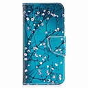 رخيصةأون LG أغطية / كفرات-غطاء من أجل LG V30 / LG Q6 محفظة / حامل البطاقات / مع حامل غطاء كامل للجسم زهور قاسي جلد PU