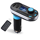 cheap Flashlights-Bluetooth MP3 Player Handsfree Car Kit AUX Hands Free FM Transmitter with Dual USB MP3 SD LCD Car Charger Cigarette Lighter