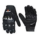 hesapli Aksesuarlar-at binme kabile motosiklet eldiven erkek kadın paslanmaz çelik kabuk dokunmatik ekran sürme motosiklet eldiven guantes moto luvas gants